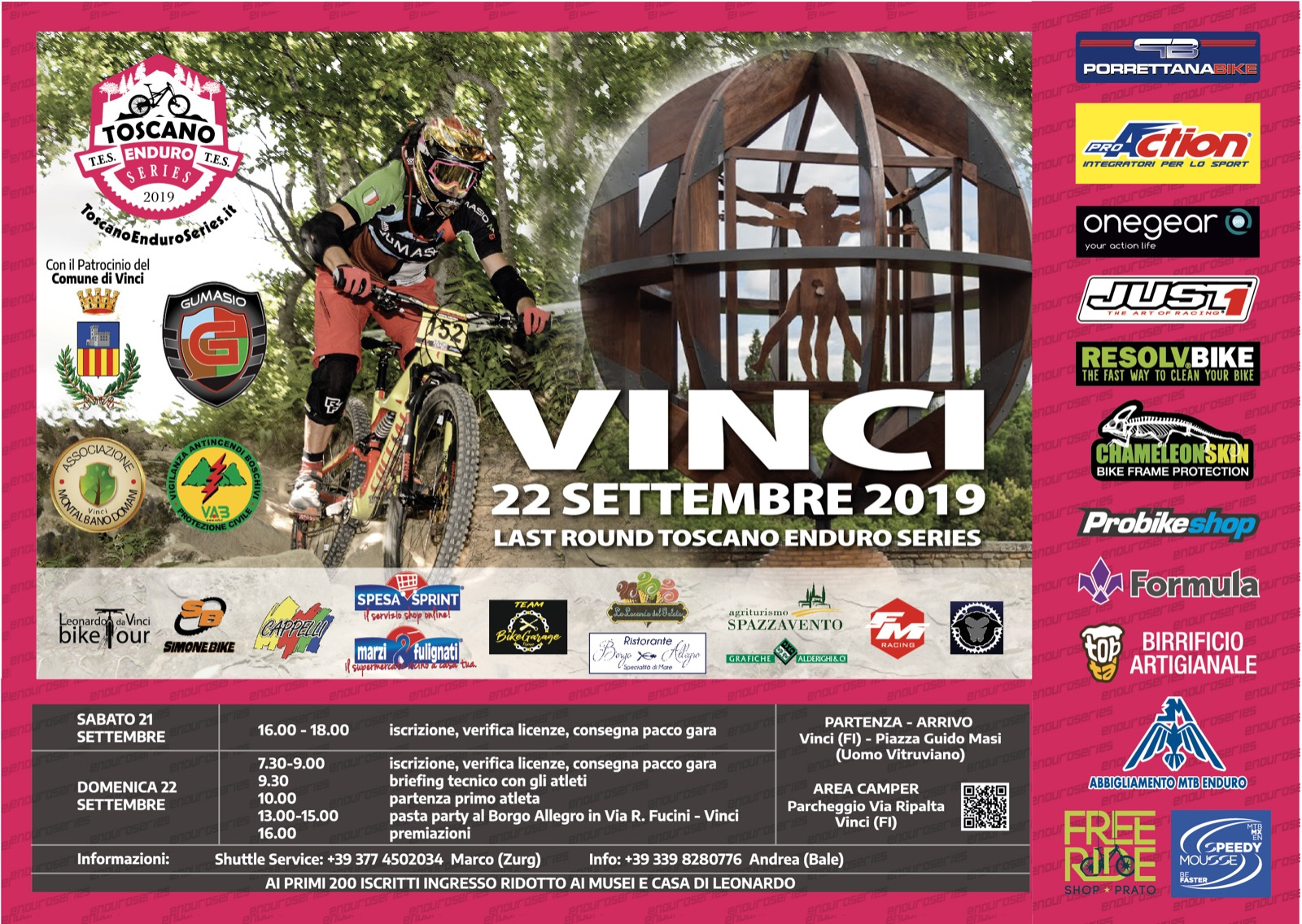 Calendario Prima Categoria Toscana.Toscano Enduro Series Mtb